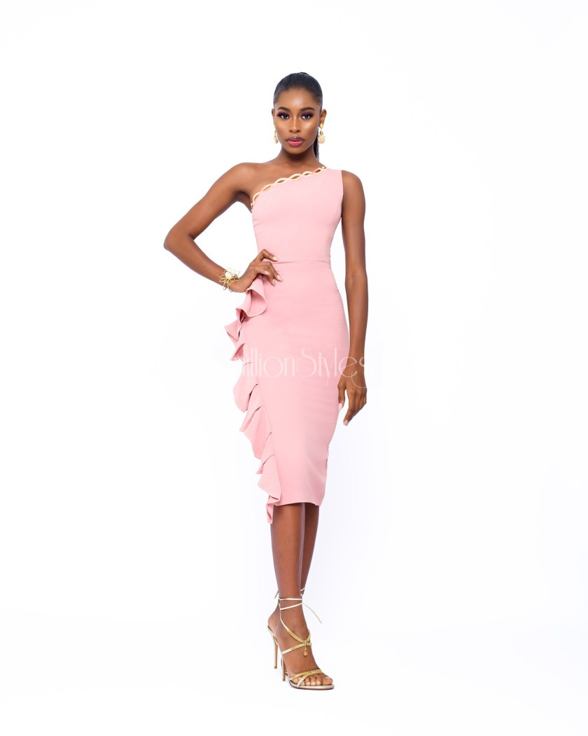 Stunning Model Aduke Is The Muse For Jewel Jemila Elegant-Serenity Collection