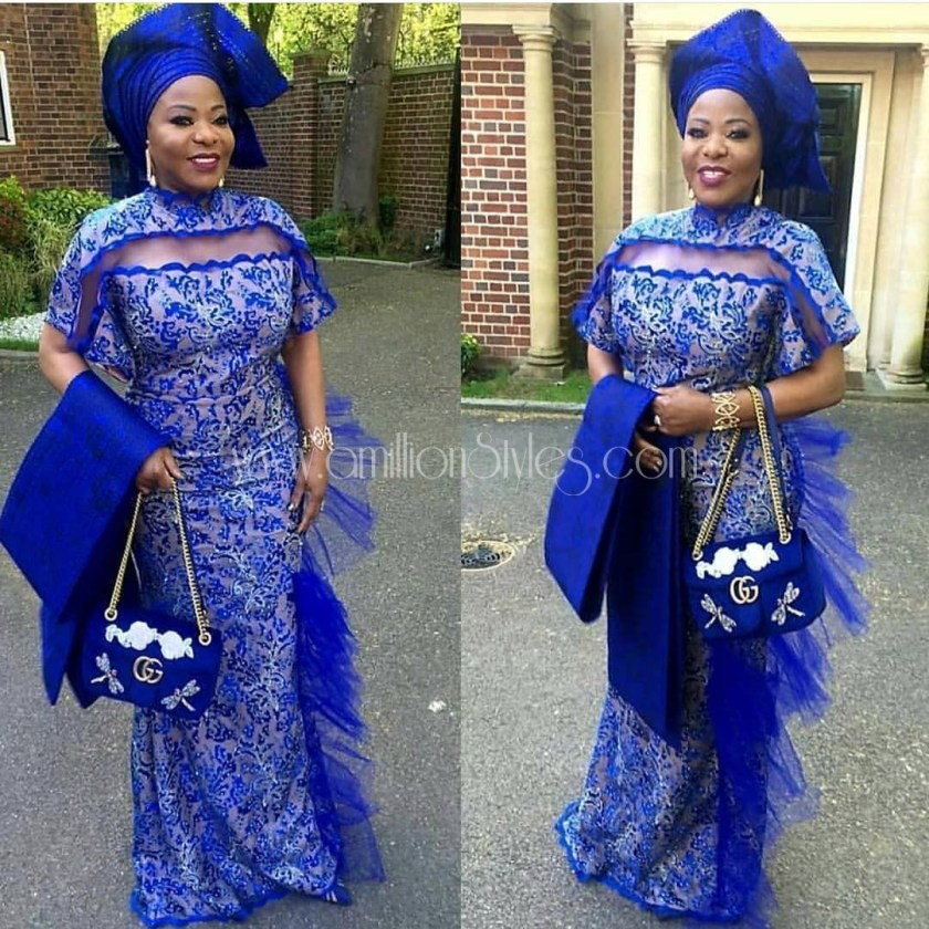 11 Lace Asoebi Outfits That Are Off The Chain!