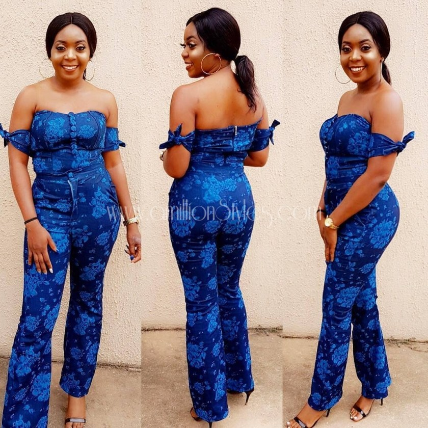 Here Are 10 Of The Best Ankara Jumpsuit Styles Out There