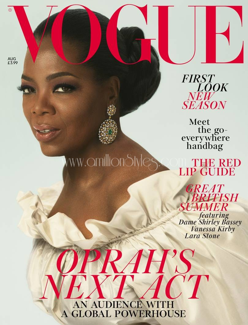 Oprah Winfrey Opens Up On Race And Feminism As She Covers British Vogue 2018 Issue