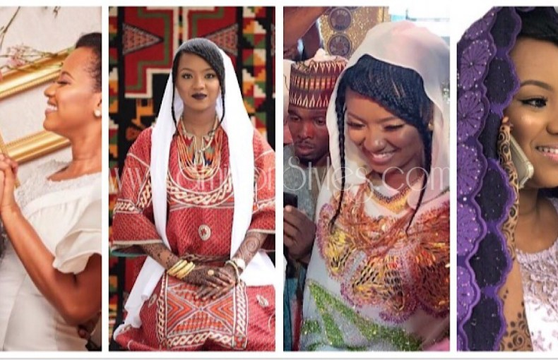 The Beautiful Hausa Wedding Ceremony Of Hauwa Indimi And Muhammed Yaradua