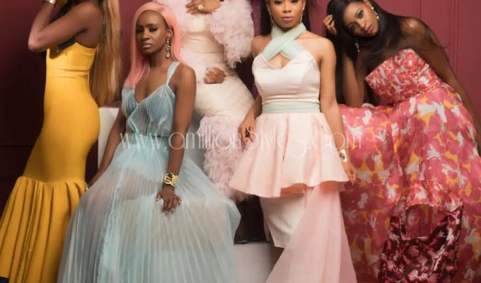 Bbnaija 2018 Girls Stun On The Cover Of Glam Africa Magazine