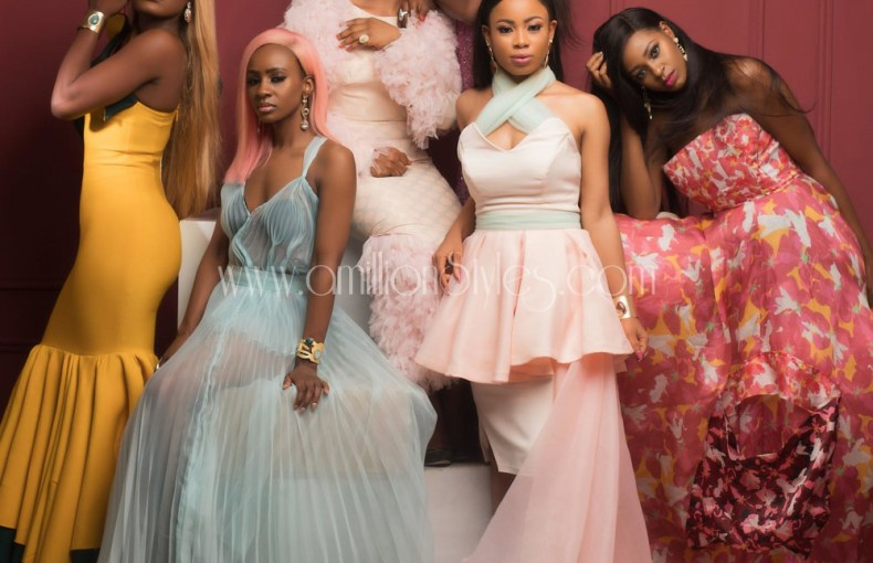 Bbnaija 2018 Girls Stun On The Cover Of Glam Africa Magazine