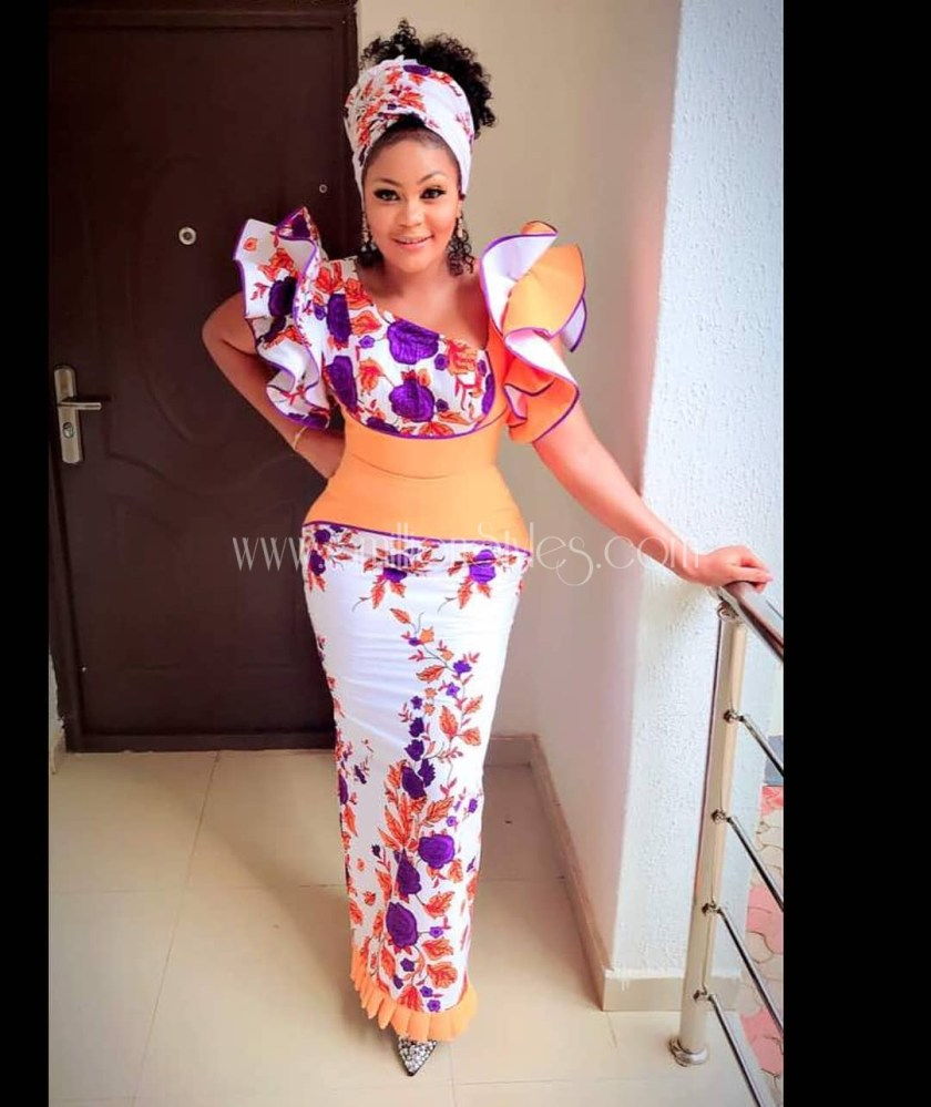 Go From 0 To 100 In These 12 Finest Ankara Outfits