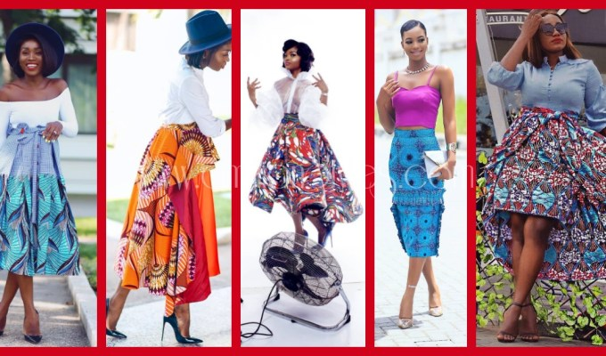 Casual Ankara Skirts/Trousers For The Weekend