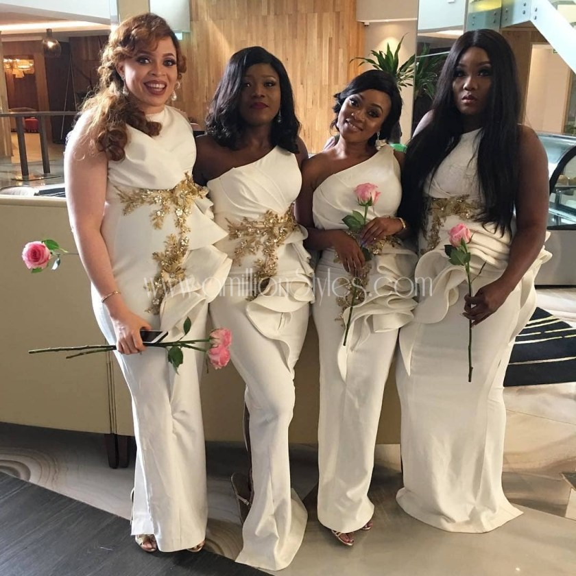 Ain't These Unique Bridesmaids Too Gorgeous For Words??