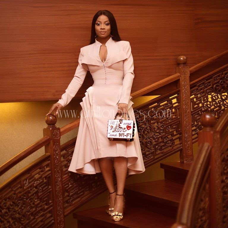 Who Wore It Best: Toke Makinwa, Stephanie Coker And Chioma In Style Temple