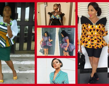 You Are Dulling If You Don't Own These Perfect Ankara Blouses