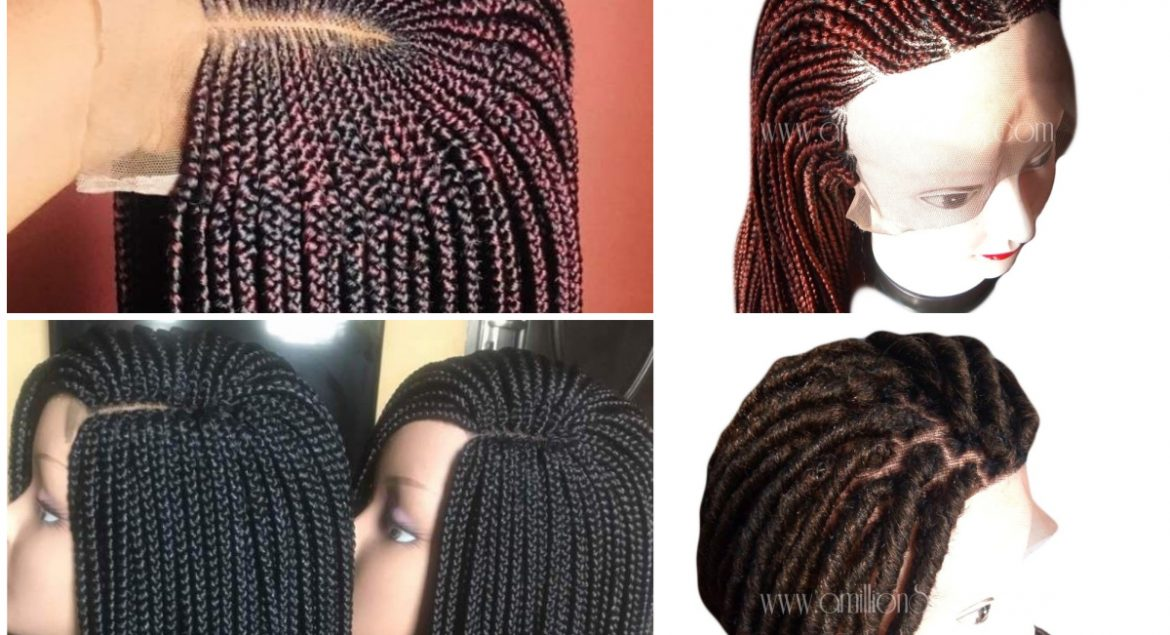 affordable braided wig