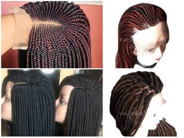 affordable braided wig