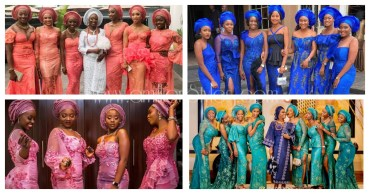 Queening Asoebi Friends Of The Bride