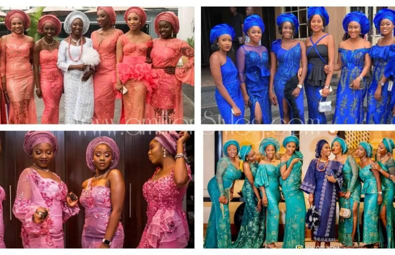 Queening Asoebi Friends Of The Bride