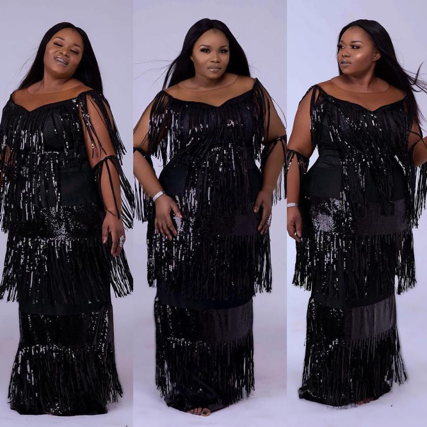 You Strut When You Are Rocking A Lit Fringe Asoebi Style