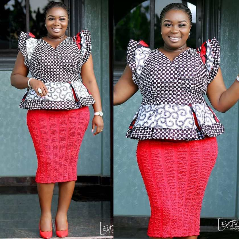 Monday Ankara Tops For Chic Ladies