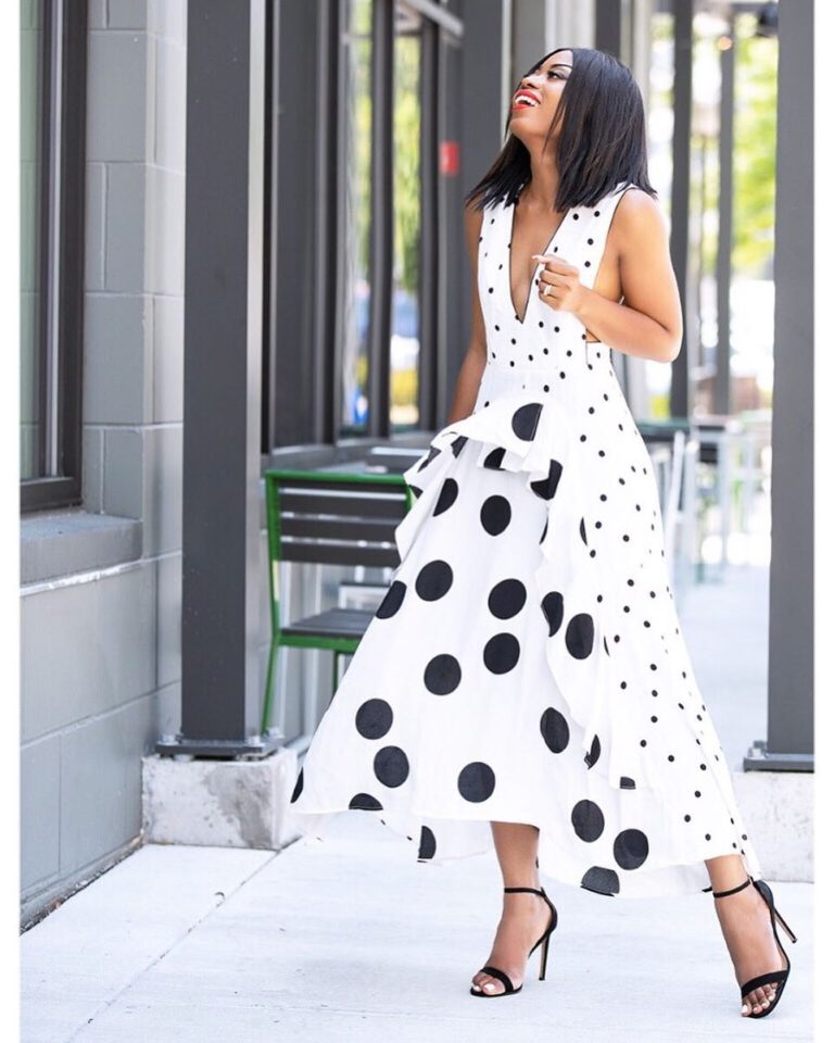 How To Stand Out While Wearing The Polka Dots Trend
