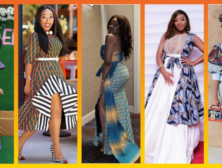 Cause A Buzz Wearing The Latest Ankara Dresses