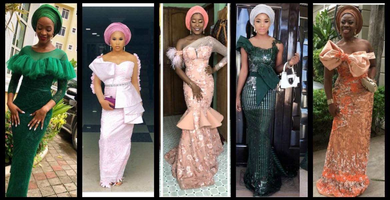 Enjoy This Lace Asoebi Styles Compilation