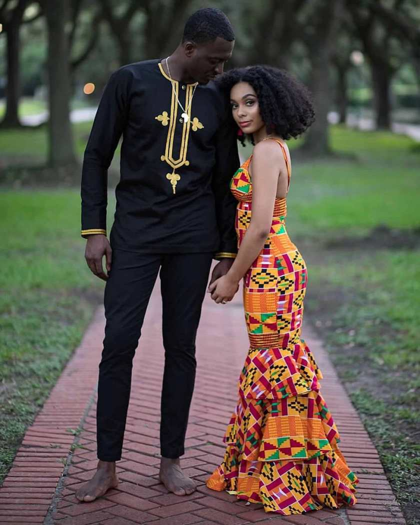 Akwaaba!! Unique Kente Style Fit For Brides!