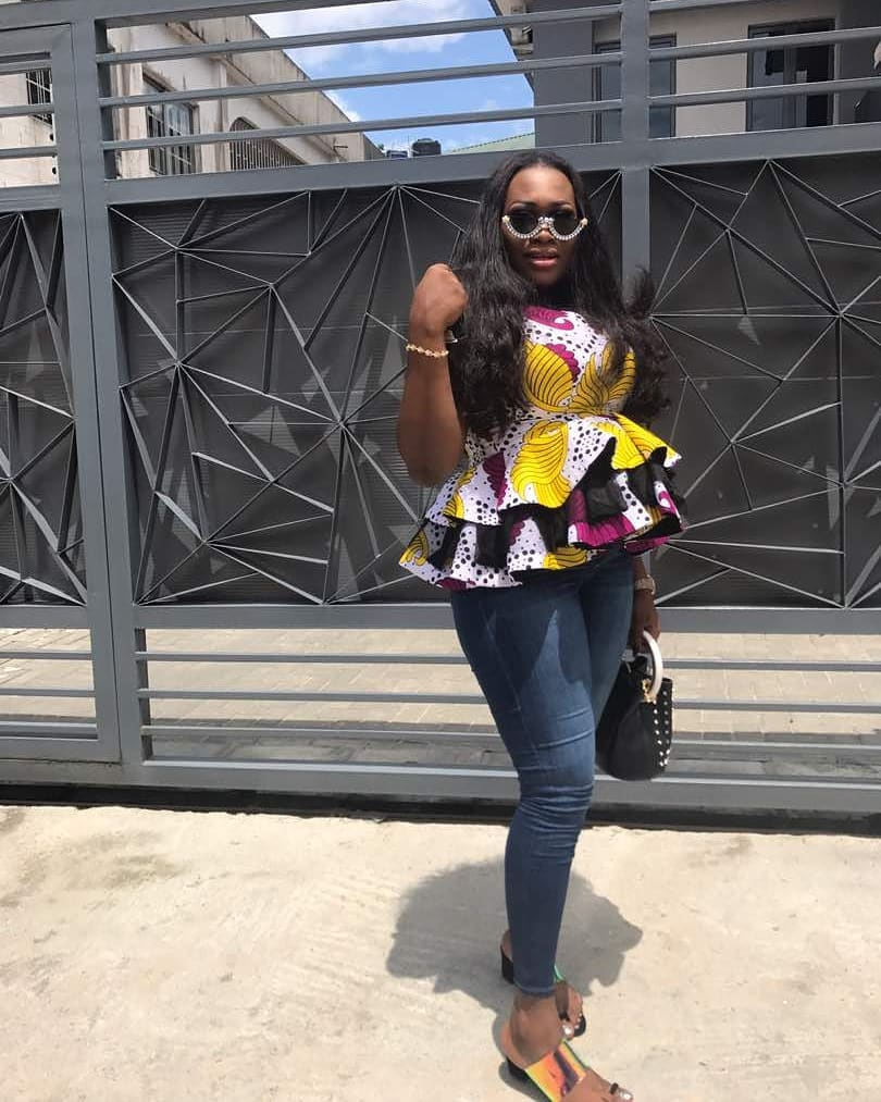 Look Perfect For Tuesday In The Best Ankara Tops in 2018