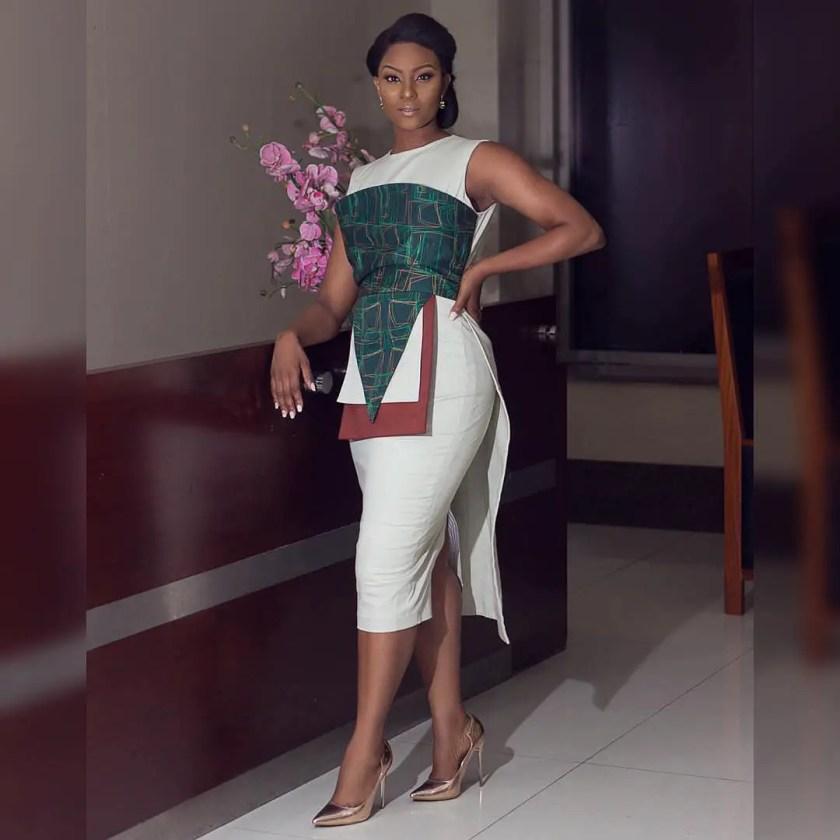 Chimamanda Adichie And Osas Ighodaro Rock The Same FIA Dress