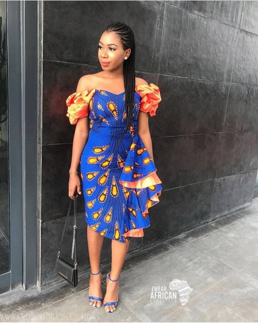 Spicy Ankara Styles For A Cool Monday