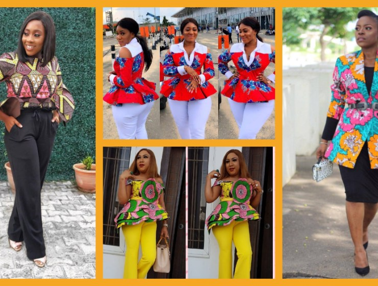 10 Stylish Ankara Blouses For Chics