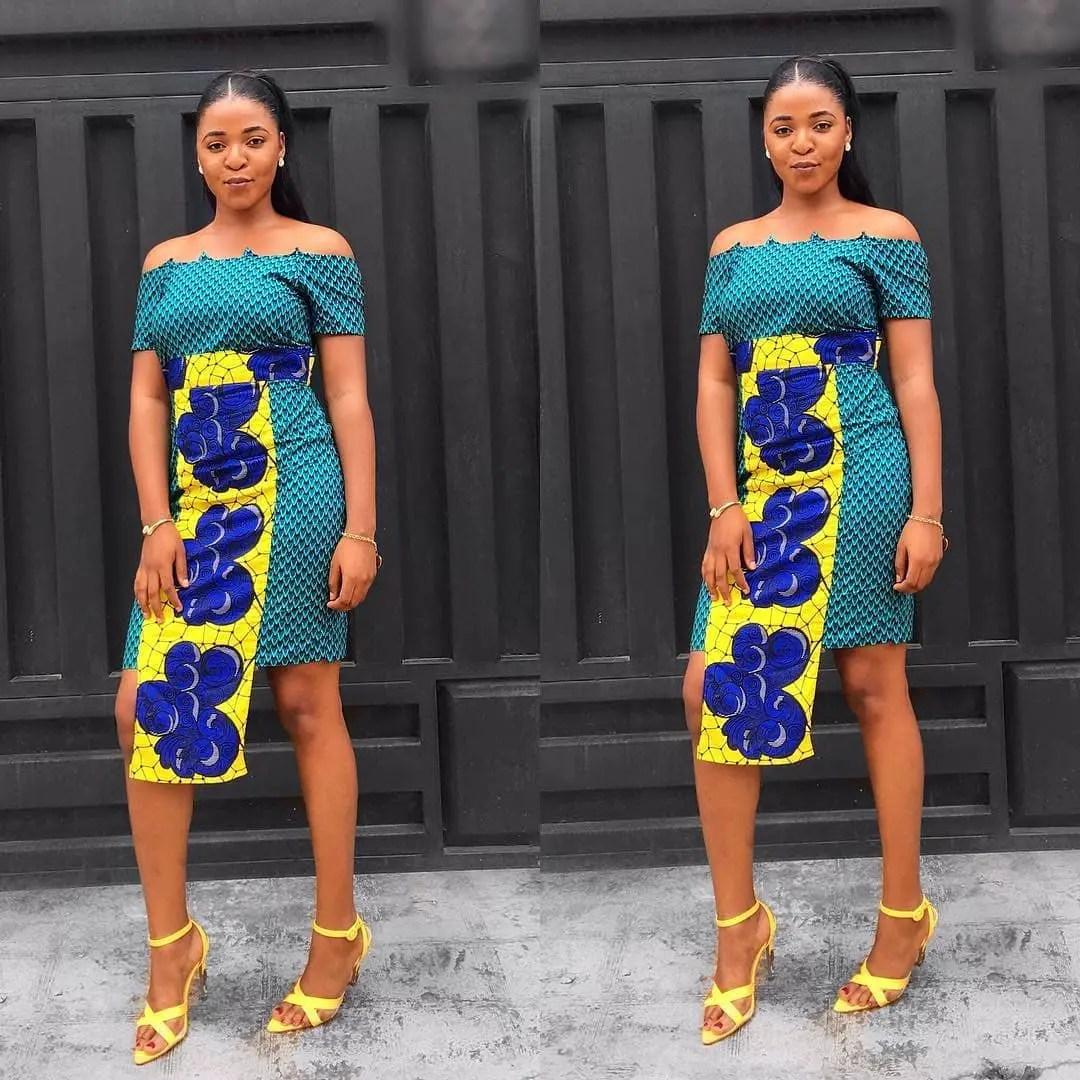 Look Fly In Hawt Short Ankara Dresses