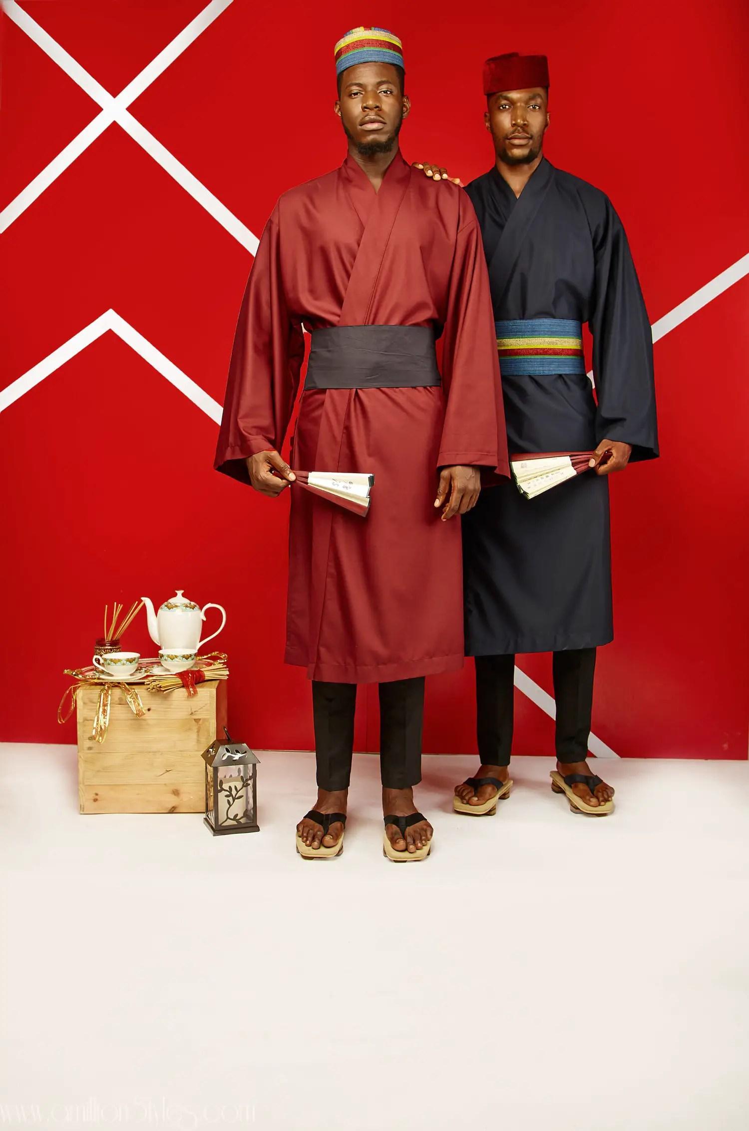 "Men Fashion: Signore Fusion by Vanskere Presents ""Kabuki"" For Spring/Summer 2019"