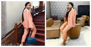 Look Of The Day:Mimi Onalaja Is Goals In This Gorgeous Suit