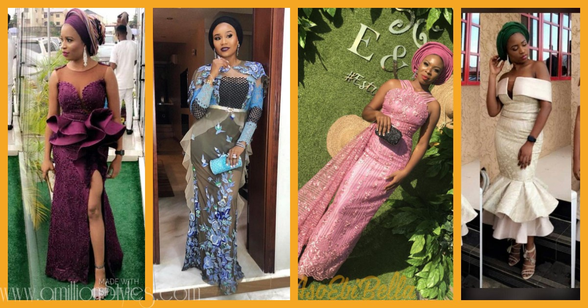 These Asoebi Lace Styles Are Without Equals
