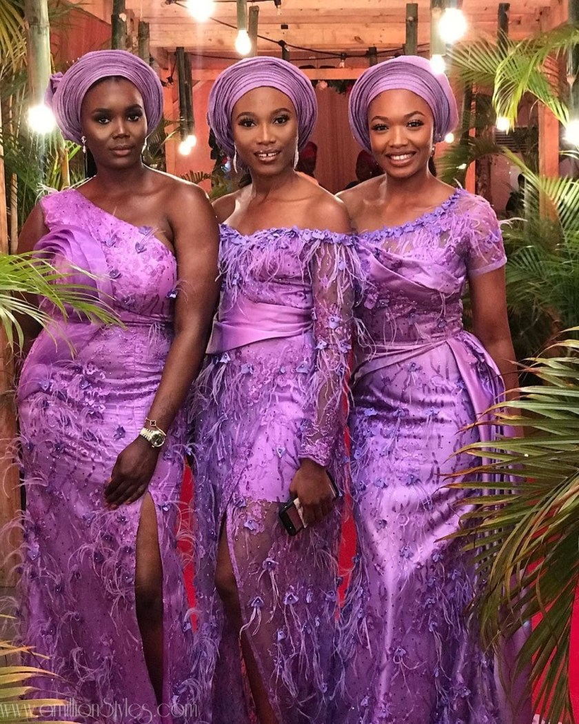 11 Brides And Their Asoebi Slay Squads