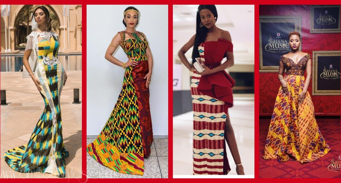 Lush Kente Styles For Intending Brides