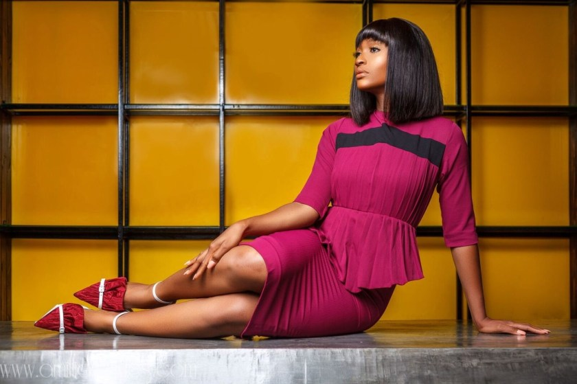 """Powede Lawrence Is The Face Of Lady Biba's """"Lady In Line"""" Campaign"""
