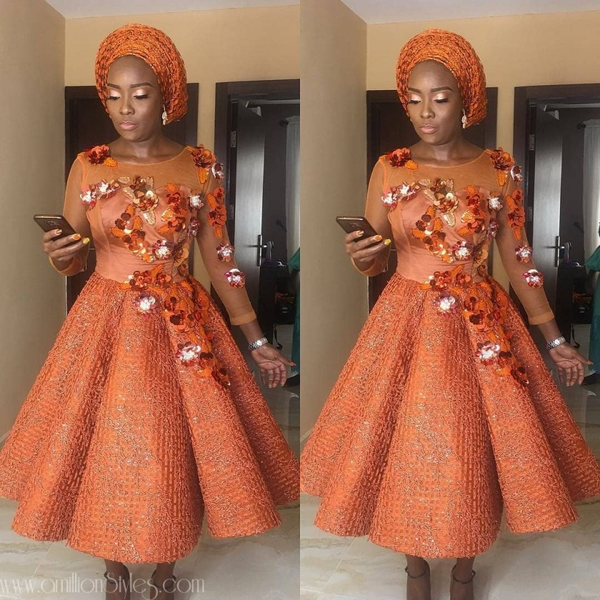 Fabulous Asoebi Styles Ideas For Older, Mature Women Lookbook 7