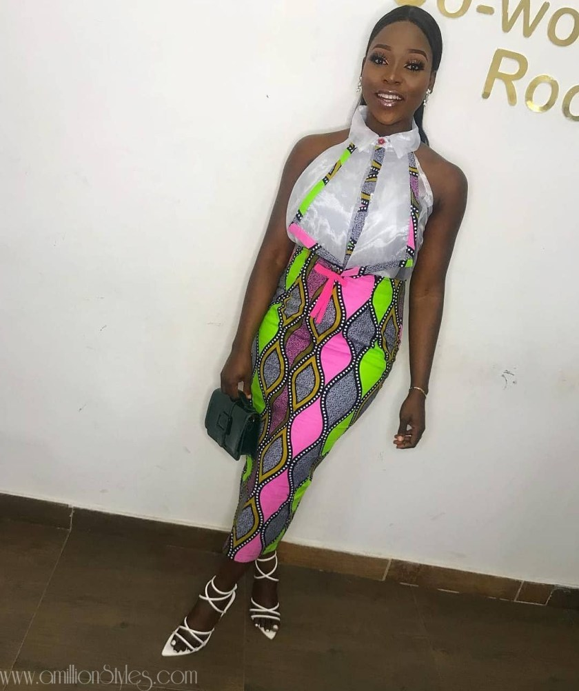 You Can't Wear The Fab Ankara Outfits And Not Do Shakara