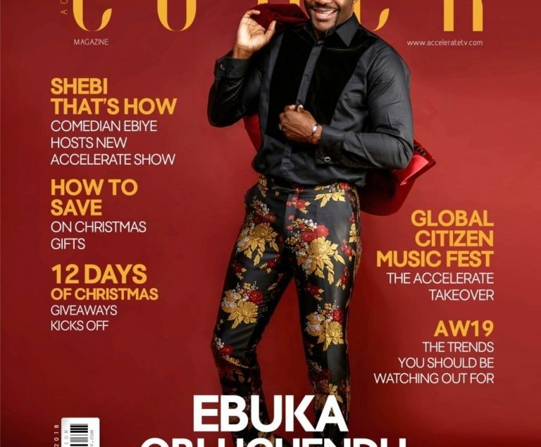 Ebuka Uchendu Is Nigeria's Most Stylish Man According To Accelerate Tv Magazine