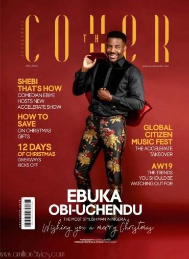 Ebuka Uchendu Is Nigeria's Most Stylish Man According To Accelerate Tv Magazine