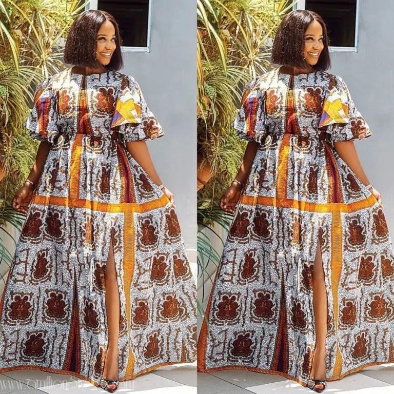 One Fabric Five Styles: Nini Enefola Gives Us Ankara Goals!