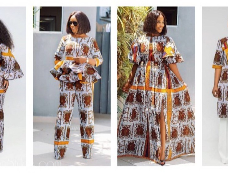 One Fabric Five Styles: Nini Enefola Gives Us Ankara Goals!