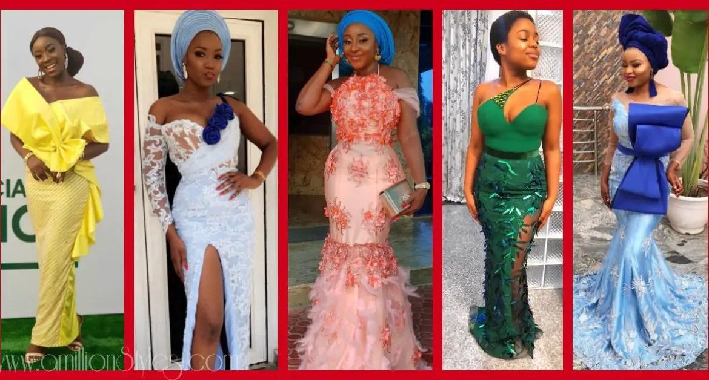 12 Fashionably Hawt Asoebi Styles