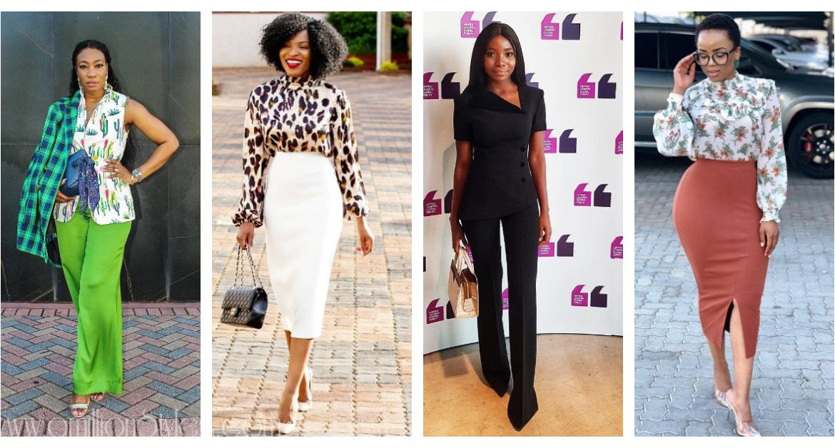 The World Will Make Way For These Boss Lady Outfits