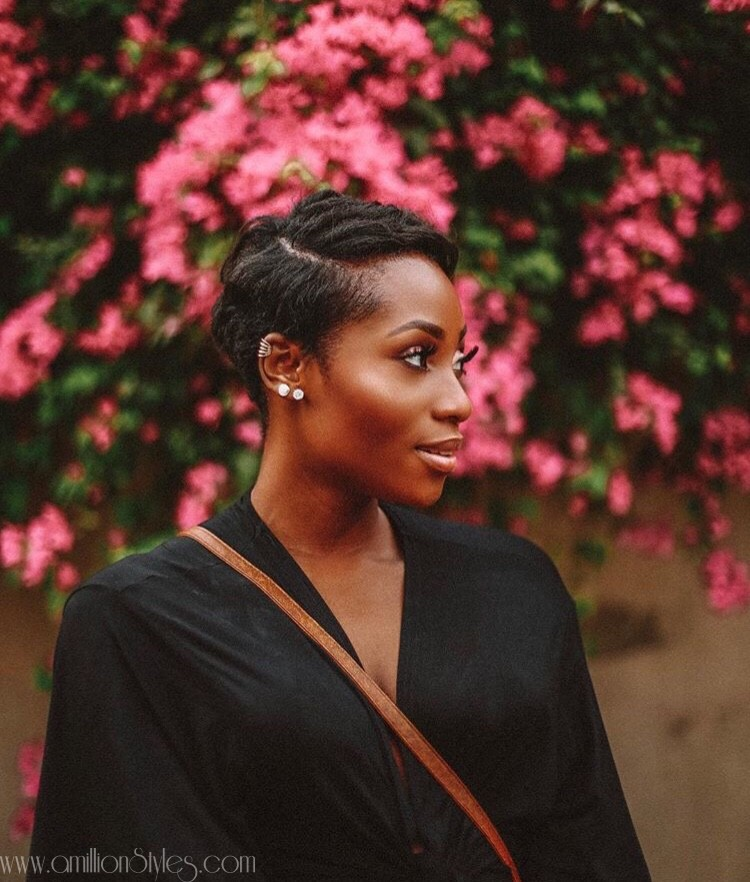 Learn How To Style Your Short Relaxed Hair With Dimma Umeh