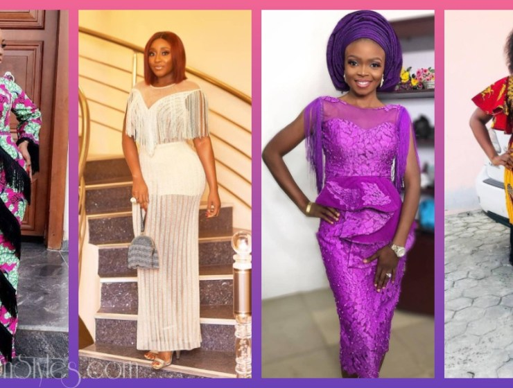Fringe Asoebi Styles Lookbook 23