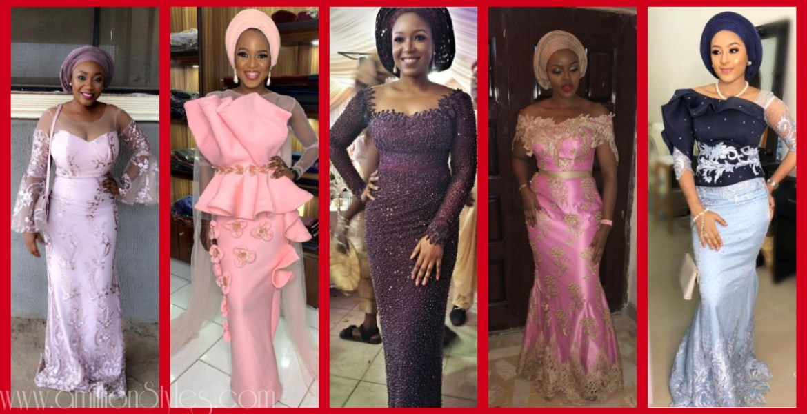 Fabulous Asoebi Styles Ideas For Older, Mature Women Lookbook 9