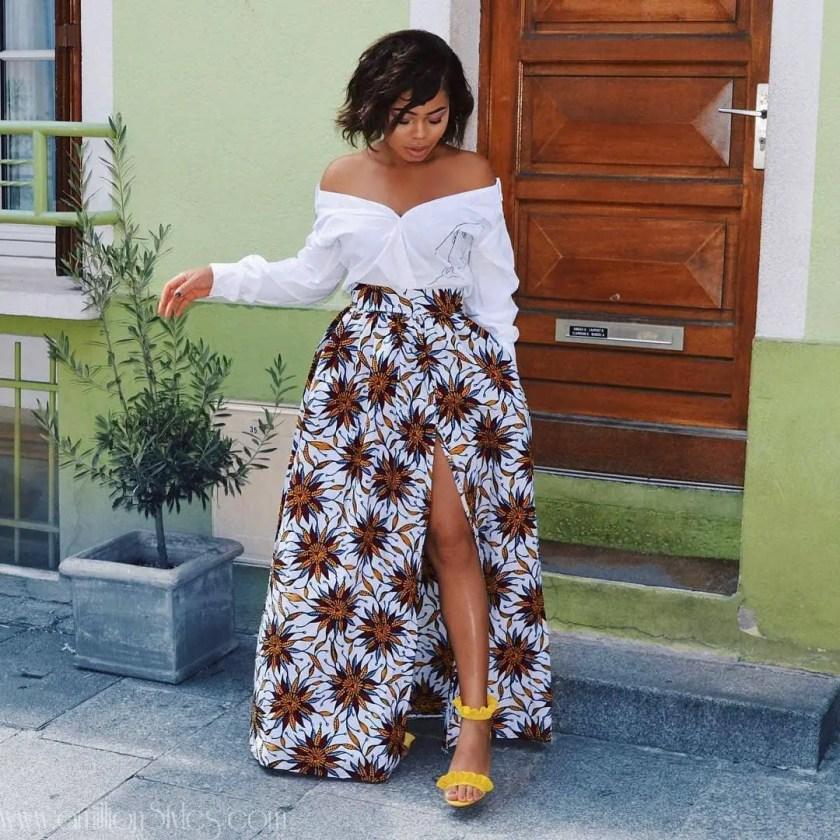 8 Ankara Skirts For Christmas!!!