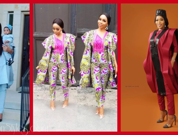 Ladies Looking Hawt In Agbada Styles