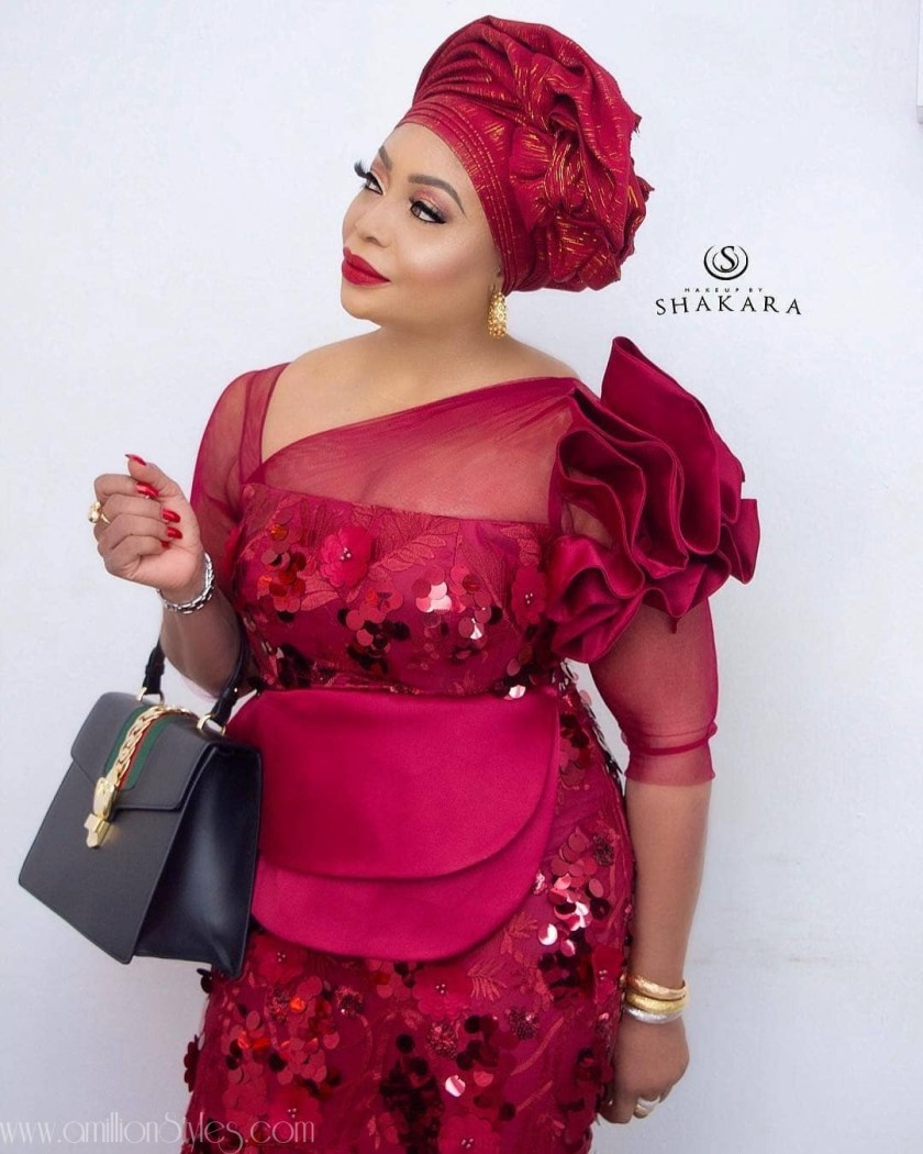 Latest Lace Asoebi Styles Volume 9