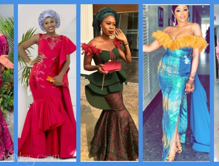 Latest Lace Asoebi Styles Volume 3