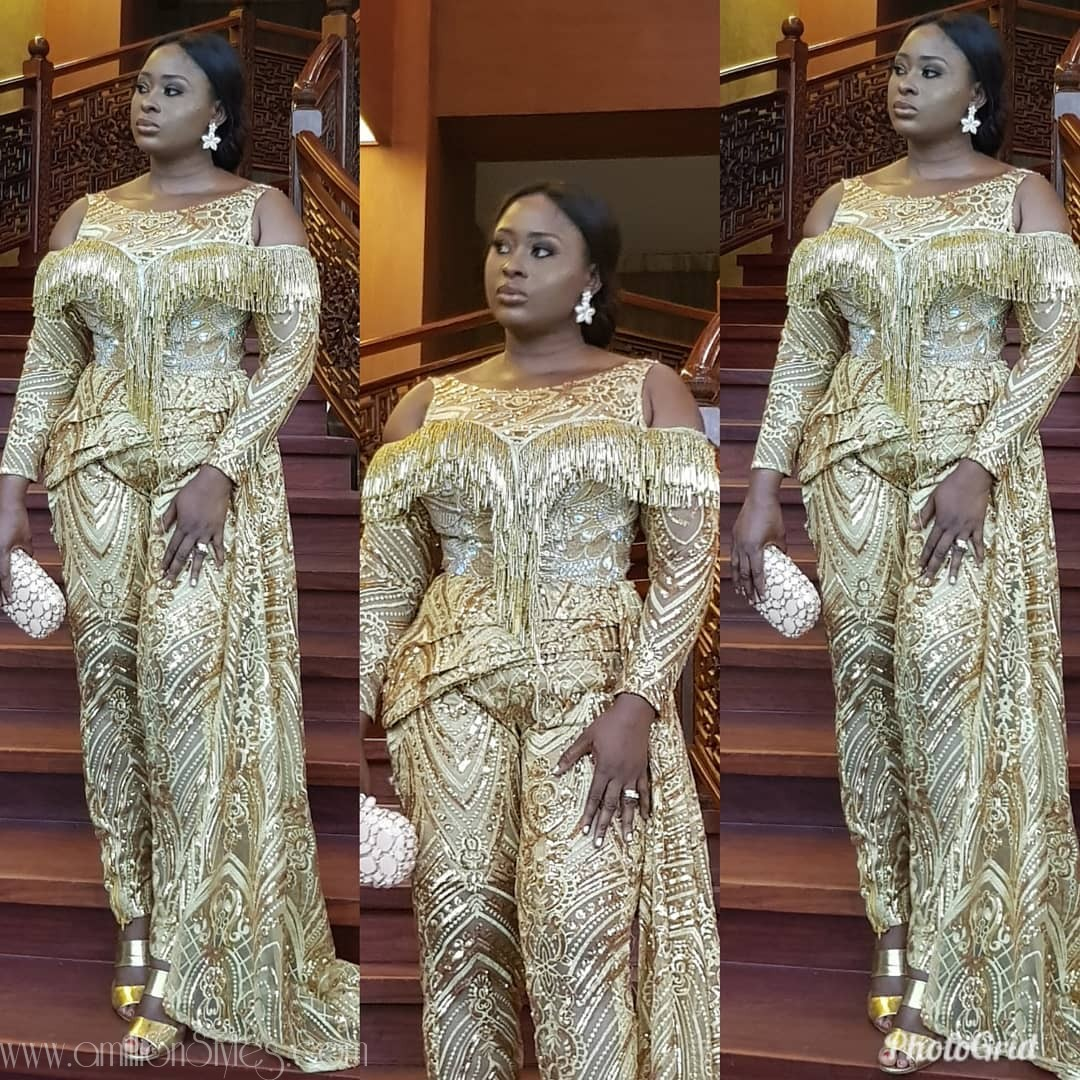 Fringe Asoebi Styles Lookbook 27