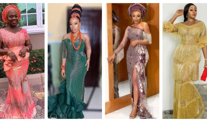 Fringe Asoebi Styles Lookbook 26